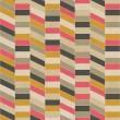 Seamless retro geometric pattern on paper texture. — Stock Photo