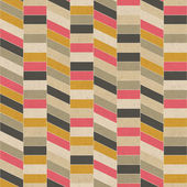 Seamless retro geometric pattern on paper texture. — Stock Photo