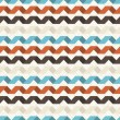 Seamless retro geometric pattern. - Image vectorielle