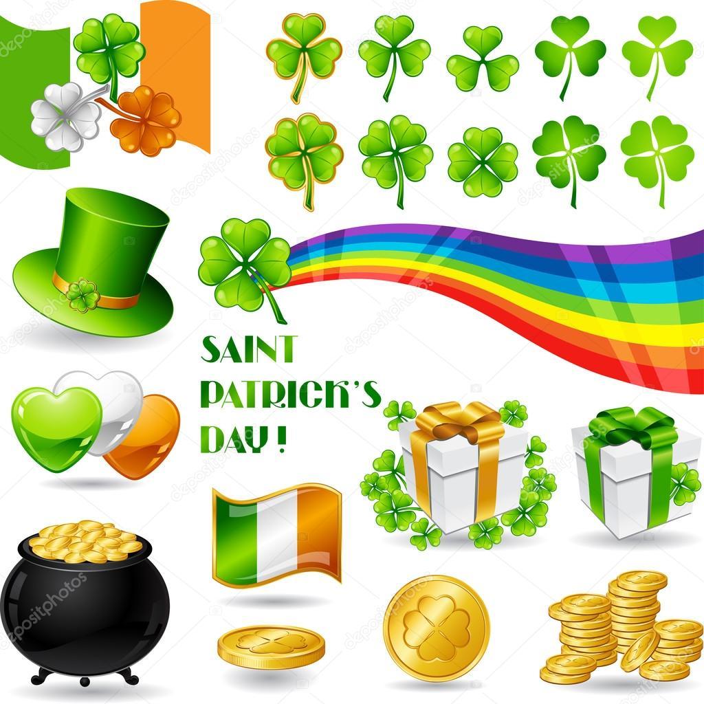 saint patricks day symbols