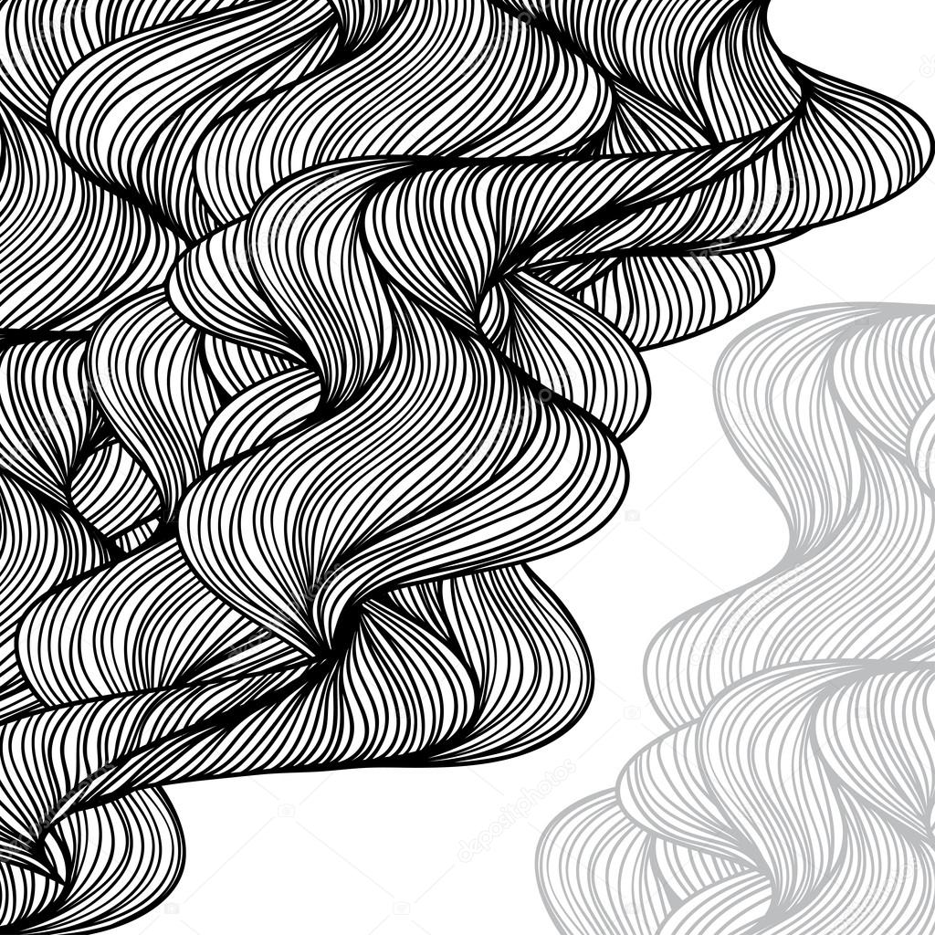 how to draw waves onshore