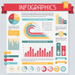 Royalty-Free Stock Imagen vectorial: Infographics elements collection. Set 1.