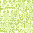 Royalty-Free Stock Vector Image: Seamless pattern with trees.