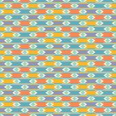 Seamless pattern in stile retrò — Vettoriale Stock