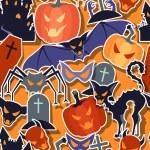 Halloween seamless pattern. — Stock Vector #28643977
