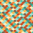 Stock Vector: Seamless pattern in retro style.