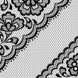 Vintage lace frame, abstract ornament. Vector texture. — 图库矢量图片