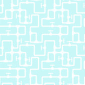 Seamless pattern with water pipeline. — 图库矢量图片