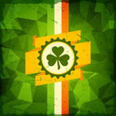 Saint Patrick's Day abstract grunge background. — Stock Vector