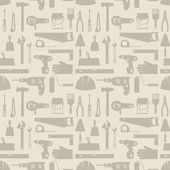 Seamless pattern with repair working tools icons. — Stock Vector