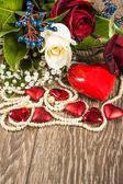 玫瑰花束 — 图库照片