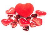 Red heart — ストック写真