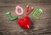 Messaggio di amore — Foto Stock