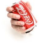 Постер, плакат: Coca cola can