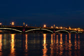 Trinity bridge(Saint-Peterburg, Russia) — Stock Photo