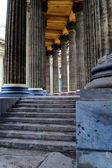 Colunata da catedral kazan — Foto Stock