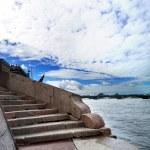 Granite staircase — Stock Photo #49271925