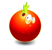 Funny orange — Vector de stock