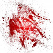 Stock Vector: Blood splatters