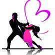 Royalty-Free Stock Vector Image: Dancers