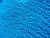 Blue knit — Stock Photo