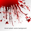 Blood splatters - Stock Vector