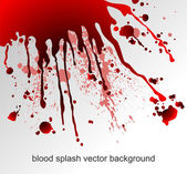 Blood splatters — Stock Vector
