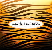 Tiger pattern — Stock Vector