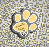 Leopard print — Stock Vector