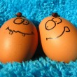 Foto Stock: Funny easter eggs