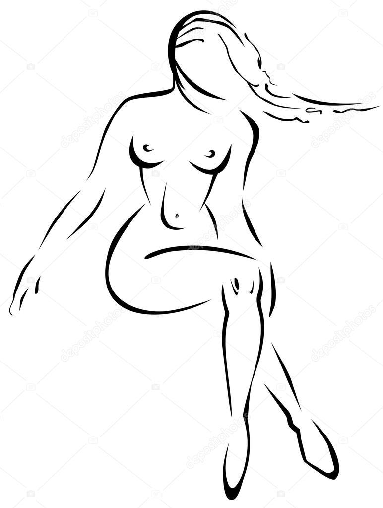 Черно белые рисованные порно рисунки — 10