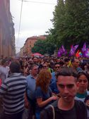 Gay pride Bologna - Italy — Stock Photo