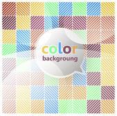 Color blocks background. Seamless vector. — Stock Vector
