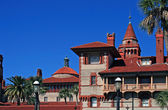 Flagler college located in historic St Augustine Florida — Stock Photo