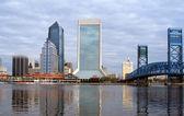 Jacksonville florida skyline — Stockfoto
