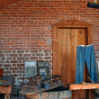 Vintage laundry room, Fort Clinch - Stock Photo