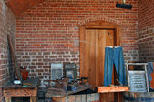 Vintage laundry room, Fort Clinch — Zdjęcie stockowe