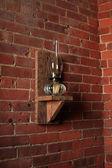 ビンテージ灯油ランプ — ストック写真