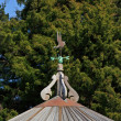 Stock Photo: Weather vane
