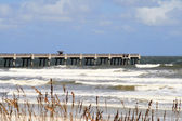 Jacksonville Beach Pier — Stock Photo