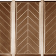 Art deco chevron pattern — Stock Photo