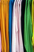 Display of shirts — Stock Photo