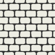 Royalty-Free Stock Vector Image: Abstract brick wall seamless background.