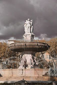 Fountain in Aix-en-Provence — Stock Photo