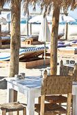 Private beach — Stock Photo