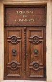 Door Commercial Court — Stock Photo