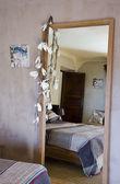 Reflet dans un miroir — Stock Photo