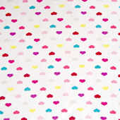 Small hearts pattern multicolors — Stock Photo