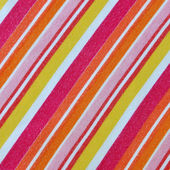 Colorful striped fabric pilling sqared — Stock Photo