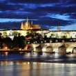 Night Prague — Stock Photo